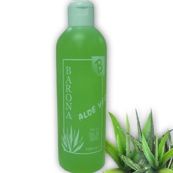 Aloe Gel de Baño 1000ml.