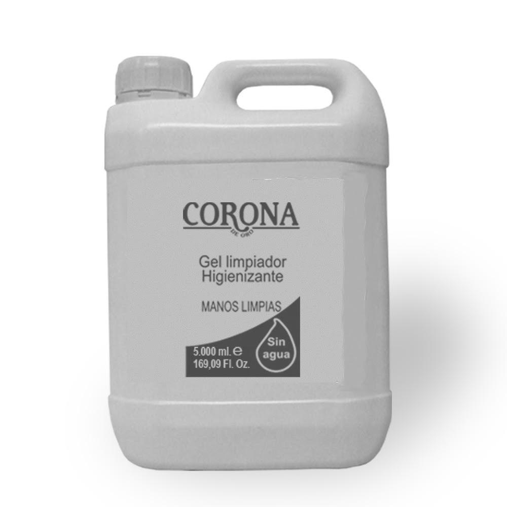 Gel Limpiador Hidroalcoholico 5L. (cinco litros)